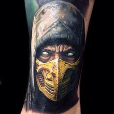 Get over here! Mortal Kombat #scorpion video games #nerd #geek
