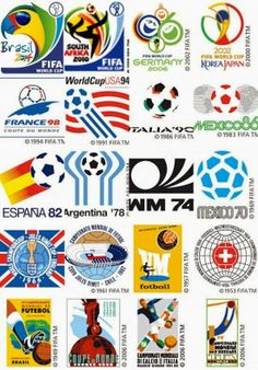 Football ©: World Cup Football Championships:- Posters/Logos. Fifa Football, Best Football Team, World Football, Soccer World, Soccer Cup, Soccer Logo, 2002 World Cup, Fifa World Cup, Russia World Cup