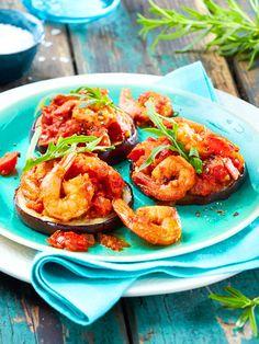Scampi mit Tomaten-Rosmarin-Soße