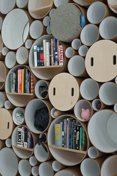 How cool is this wall of storage? Blue Marlin | SOFTlab | Archinect