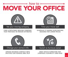 Moving offices? Follow this helpful tips for a smooth transition