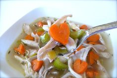 When it comes to comfort food, nothing says nourishing like a nice hot bowl of homemade chicken noodle soup made with love. The base of this recipe is a wonderful, rich homemade chicken stock made …