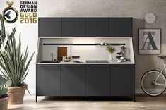 SIEMATIC 29 RECEIVES THE GERMAN DESIGN AWARD 2016 IN GOLD - AN EXQUISITE HONOR FOR A UNIQUE PIECE OF FURNITURE Löhne, October 26, 2015. The coveted German Design Award is the premium international prize given by the Council for Design and is one of the most prestigious design competitions in the world. The German Design Award in Gold stands for top performance in international design!