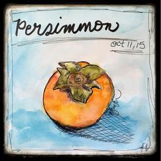 My latest obsession is called a Persimmon — Roben-Marie Smith