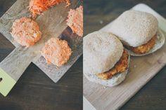 Sweet potato and Chickpea burgers