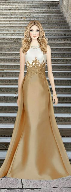 Covet Fashion Games, Fashion Art, Fashion Looks, Womens Fashion, Fashion Illustrations, Fashion Sketches, Long Dresses, Formal Dresses, Diva Dolls