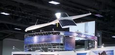 This solar-powered atmospheric satellite could stay aloft for 5 years!