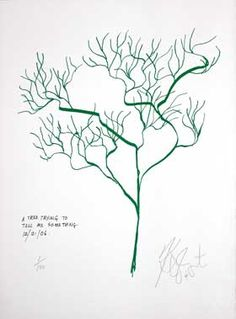 "vonnegut. ""a tree trying to tell me something"""