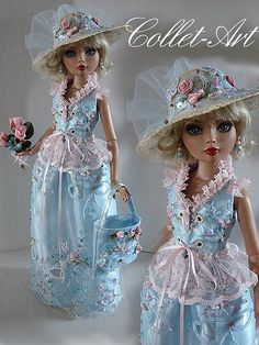 "2013 TONNER WILDE IMAGINATION ELLOWYNE WILDE PRUDENCE MOODY IMPERIUM PARK OOAK FASHION OUTFIT ""FEMININITY"" COLLET-ART 