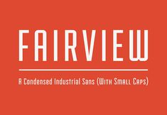 This is the FREE Fairview Font by LostType which is a condensed industrial sans font. It also includes a small caps variation.