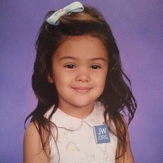 """@los4moonyoze from California, USA tells us: """"Our brave 4 year old decided to wear her favorite pin for her preschool pictures. We didn't know if they would make her take it off. But the school..."""