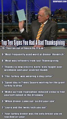 Funny Thanksgiving