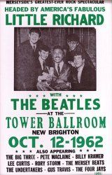 Little Richard and The Beatles  Vintage Concert Poster 1962. I need a time machine!