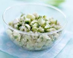 Taboulé de quinoa, concombre de France, menthe et fêta