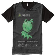 Shop Muppets Kermit the Frog All-Over-Print T-Shirt created by muppets. Personalize it with photos & text or purchase as is! Muppets Most Wanted, S Shirt, Shirt Shop, Kermit The Frog, Stylish Shirts, Movie T Shirts, Photo Craft, Printed Shirts, Custom Design
