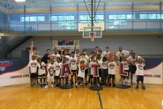 On Wednesday, June 26th, the Atlanta Hawks Basketball Development Team hosted a clinic at Coach Casey's Conditioned Minds Basketball Camp. Campers were put through various combine testing stations and their results were measured against other campers. Awards and prizes were handed out to contest winners throughout the day and everyone had a great time