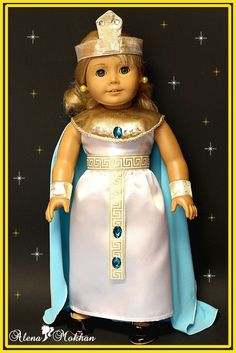 18 Inch American Style Doll  Luxurious Halloween Christmas Cleopatra Costume #AlenaMokhan