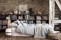 Low Rustic Bed
