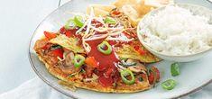 Foe yong hai - Zelfgemaakt! - Leuke recepten Vegetable Pizza, Low Carb, Yummy Food, Lunch, Vegetables, Healthy, Portie, Drinks, Mushroom