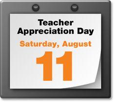 Mark the date for a bargain for teachers..........
