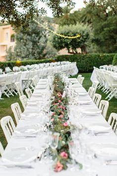 garden wedding style | Wanderlust Wedding Planner French Riviera