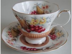 Royal Albert Country Fayre Series Devon Cup and Saucer | eBay