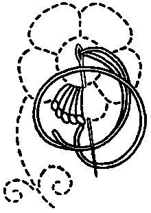 Chapter 3 - looped stitches: ANNE WANNER'S Textiles in History/Vocabulary as in: Stickereien von der Vorzeit bis zur Gegenwart, by Ruth Groenwoldt, München 1993