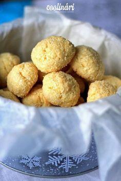 kokosky, recept Pretzel Bites, Christmas Cookies, Cereal, Breakfast, Blog, Recipes, Morning Coffee, Basket, Xmas Cookies