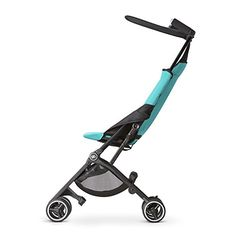 Feather-light, convenient, and ultra-compact when folded, the GB Pockit Stroller would make the perfect urban travel stroller for families constantly on-the-go. Clever design allows you to switch from pushing to easily carrying the stroller in seconds. Kid Essentials, Umbrella Stroller, Travel Stroller, Cool Mom Picks, Best Rated, Thing 1, Capri Blue, Travel System, Small World