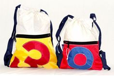 RS Backpack with Sail Number - Bags