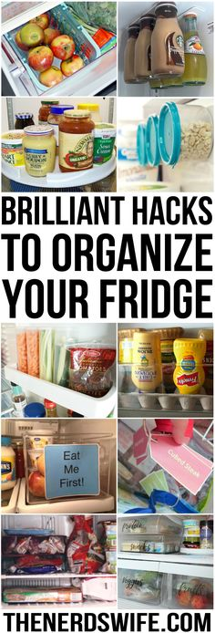 Brilliant hacks for organizing your refrigerator and ways to create a kid-friendly snack area in your kitchen.