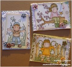 Stempeleinmaleins: ATC`s - Artist Trading Cards