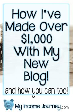 <p>Today is Nov. 14, 2016. I started My Income Journey in June 2016 so I'm just about at my 6 month anniversary. That's counting from day one with absolutely nothing on this site. No name, no content, no knowledge of…</p>