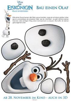 Wir präsentieren Ihnen und Ihrem Kind eine ganz besondere Bastelanleitung. Basteln Sie gemeinsam den Schneemann Olaf aus dem Kinofilm 'Die Eiskönigin - Völlig unverfroren'.