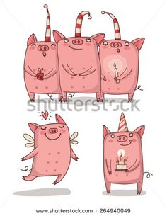 Find pig illustration stock images in HD and millions of other royalty-free stock photos, illustrations and vectors in the Shutterstock collection. Cute Donkey, Cute Pigs, Pig Illustration, Illustrations, Farm Animals, Cute Animals, Farm Cartoon, Crochet Pig, Animal Worksheets