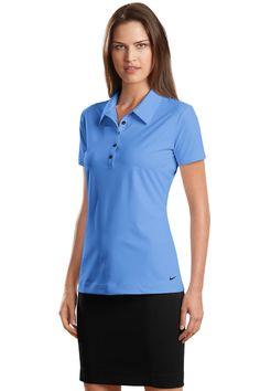 f76bdf6f Nike Golf - Elite Series Ladies Dri-FIT Ottoman Bonded Polo. 429461