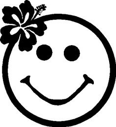 clipart smiley face black and white - Google Search ...
