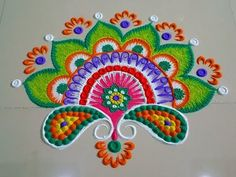 Simple rangoli designs with 5 dots - 5 to 3 dots kolam - chukkala muggulu designs Free Hand Rangoli Design, Colorful Rangoli Designs, Rangoli Designs Diwali, Rangoli Designs Images, Best Mehndi Designs, Beautiful Rangoli Designs, Rangoli Colours, Rangoli Patterns, Rangoli Ideas