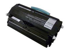 Black Toner Cartridge compatible with the Lexmark E260A21A,  E260A11A