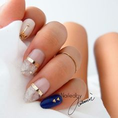 Fall Nail Designs - My Cool Nail Designs Love Nails, Fun Nails, Faded Nails, Nailed It, Nagel Hacks, Homecoming Nails, Homecoming Ideas, Fall Nail Designs, Nail Decorations