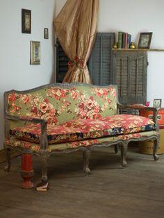 Vintage Harvest Couch 1499.00 (april cornell)