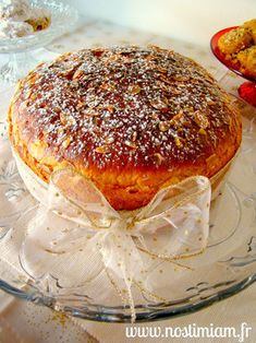 Politiki vassilopita Jus D'orange, Camembert Cheese, Dairy, Breakfast, Desserts, Recipes, Biscuits, Grand Format, Pastries