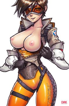 """darkartskai: """" Made some Tracer lewds for that OVERWATCH HYYYYYYPE! I know she's more known for her rump but her boobers need equal attention """""""