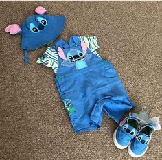 How much po ito ? Cute Disney Outfits, Disney Baby Clothes, Cute Baby Clothes, Cute Outfits, Stitch Toy, Cute Stitch, Lelo And Stitch, Lilo And Stitch Quotes, Stitch And Angel