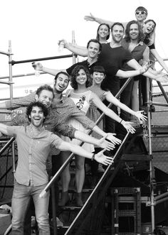 In this handout provided by Elsie Fest, Darren Criss and StarKid attend the 1st Annual Elsie Fest outdoor musical festival for showtunes at Pier 97 on September 27, 2015 in New York City.