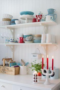 Dettagli di festa in cucina...  @http://harligthemma.blogspot.it/