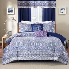 better Homes and Gardens Bedding Quilt Collection purple
