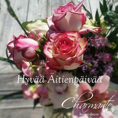 #charmantehomedecor #charmante #äitienpäivä #ruusut #sisustusliike #kuopio