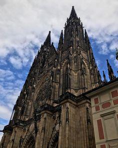 Saint Vitus Cathedral #nofilter #prague