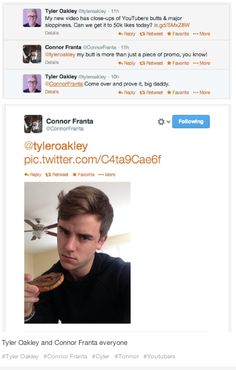 Tyler oakley and Connor Franta everybody
